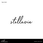 riicoccoさんの女性向け美容サロン「stellavie」のロゴへの提案