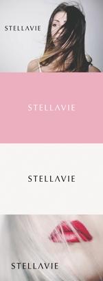 tanaka10さんの女性向け美容サロン「stellavie」のロゴへの提案