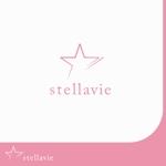 Morinohitoさんの女性向け美容サロン「stellavie」のロゴへの提案