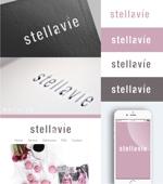 smoke-smokeさんの女性向け美容サロン「stellavie」のロゴへの提案