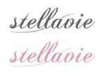 waami01さんの女性向け美容サロン「stellavie」のロゴへの提案