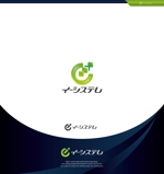 Cobalt_B1ueさんのコンテンツ制作会社 株式会社イーシステムのロゴへの提案