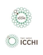chamal_no09さんの「hair salon ICCHI」のロゴ作成への提案