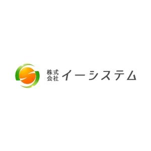 Okumachiさんのコンテンツ制作会社 株式会社イーシステムのロゴへの提案