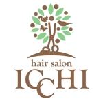 FISHERMANさんの「hair salon ICCHI」のロゴ作成への提案