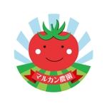 qq_81さんのトマトの化粧箱に貼るシール マルカン農園のロゴへの提案
