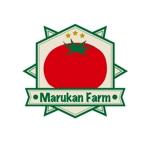 HAFEN_FELDさんのトマトの化粧箱に貼るシール マルカン農園のロゴへの提案