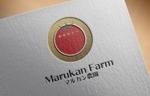 FISHERMANさんのトマトの化粧箱に貼るシール マルカン農園のロゴへの提案