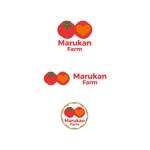 K-digitalsさんのトマトの化粧箱に貼るシール マルカン農園のロゴへの提案