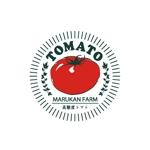 gajumarudesignさんのトマトの化粧箱に貼るシール マルカン農園のロゴへの提案
