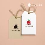 doremidesignさんのトマトの化粧箱に貼るシール マルカン農園のロゴへの提案