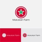 drkigawaさんのトマトの化粧箱に貼るシール マルカン農園のロゴへの提案