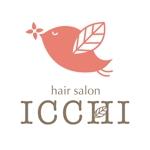 weeskiagogoさんの「hair salon ICCHI」のロゴ作成への提案