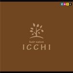 KOPANさんの「hair salon ICCHI」のロゴ作成への提案