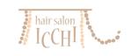 mimicoccoさんの「hair salon ICCHI」のロゴ作成への提案