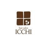 sedna007さんの「hair salon ICCHI」のロゴ作成への提案