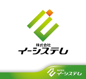 hiko-kzさんのコンテンツ制作会社 株式会社イーシステムのロゴへの提案