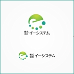 VainStainさんのコンテンツ制作会社 株式会社イーシステムのロゴへの提案