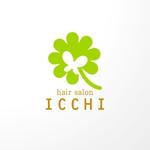 sa_akutsuさんの「hair salon ICCHI」のロゴ作成への提案