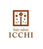 JUN_KATAOKAさんの「hair salon ICCHI」のロゴ作成への提案