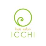 NAOTO-YUASAさんの「hair salon ICCHI」のロゴ作成への提案