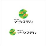 queuecatさんのコンテンツ制作会社 株式会社イーシステムのロゴへの提案