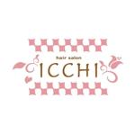 pinkpankさんの「hair salon ICCHI」のロゴ作成への提案