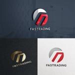 utamaruさんのネット通信販売会社のロゴ 「Fastrading  ファストレーディング株式会社」のロゴ作成への提案