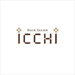 samasaさんの「hair salon ICCHI」のロゴ作成への提案