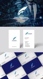 Karma_228さんのネット通信販売会社のロゴ 「Fastrading  ファストレーディング株式会社」のロゴ作成への提案