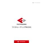 yokichikoさんのネット通信販売会社のロゴ 「Fastrading  ファストレーディング株式会社」のロゴ作成への提案
