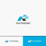 kyawa-cさんのネット通信販売会社のロゴ 「Fastrading  ファストレーディング株式会社」のロゴ作成への提案