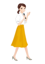 バーチャル女子アナウンサーのキャラクターデザイン制作への提案