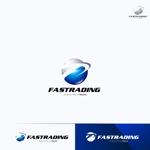 RIKU5555さんのネット通信販売会社のロゴ 「Fastrading  ファストレーディング株式会社」のロゴ作成への提案