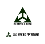 MacMagicianさんの不動産・設計業「株式会社東和不動産一級建築士事務所」のロゴへの提案