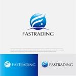 drkigawaさんのネット通信販売会社のロゴ 「Fastrading  ファストレーディング株式会社」のロゴ作成への提案
