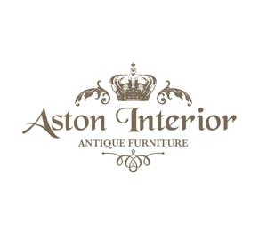 AKI-47さんの輸入高級家具・アンティーク家具販売店のロゴへの提案