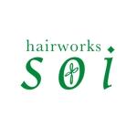 toshtaku614さんの!!大募集!! hairworks soi のロゴコンペ☆☆☆への提案