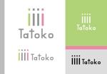 sametさんの「株式会社Tatoko」の会社ロゴへの提案
