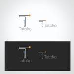 conii88さんの「株式会社Tatoko」の会社ロゴへの提案