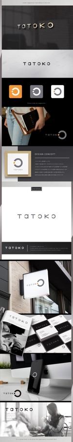 machi_2014さんの「株式会社Tatoko」の会社ロゴへの提案