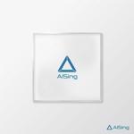 AIベンチャー企業「AISing」(エイシング)のロゴへの提案