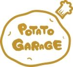 115yuさんのジャガイモ料理専門キッチンカー「POTATO GARAGE」のロゴへの提案