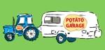 mtrismさんのジャガイモ料理専門キッチンカー「POTATO GARAGE」のロゴへの提案