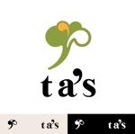 koma2さんの「ta's」のロゴ作成への提案