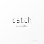 アパレルショップサイト「Catch Online Shop」のロゴへの提案