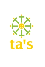 JUN_KATAOKAさんの「ta's」のロゴ作成への提案