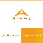 athenaabyzさんの不動産ポータルサイト運営会社「Hoomy」のロゴへの提案