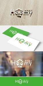 nobuworksさんの不動産ポータルサイト運営会社「Hoomy」のロゴへの提案