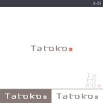 rochasさんの「株式会社Tatoko」の会社ロゴへの提案